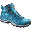 Salomon X Ultra 3 GTX Mid Hiking Shoes Women Deep Lagoon/Enamel Blue/Eggshell Blue